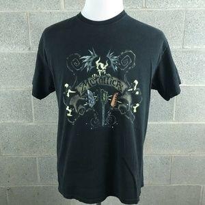 VTG Metallica T-Shirt Size Large Black Rock